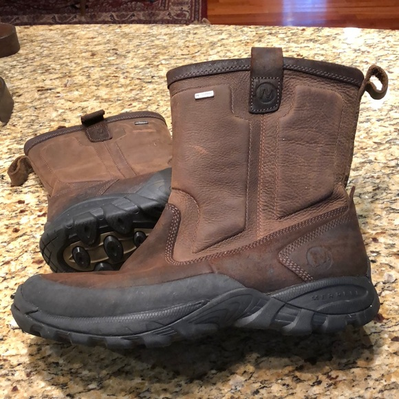 66087dc159 Merrell Men's Leather Winter Boot. Size 11.5